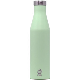 MIZU S4 Insulated Bottle 400ml with Stainless Steel Cap, sea glass